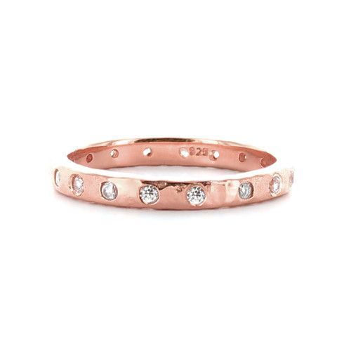 LOVE STACKING RING & PENDANT ROSE GOLD – So Pretty Cara Cotter