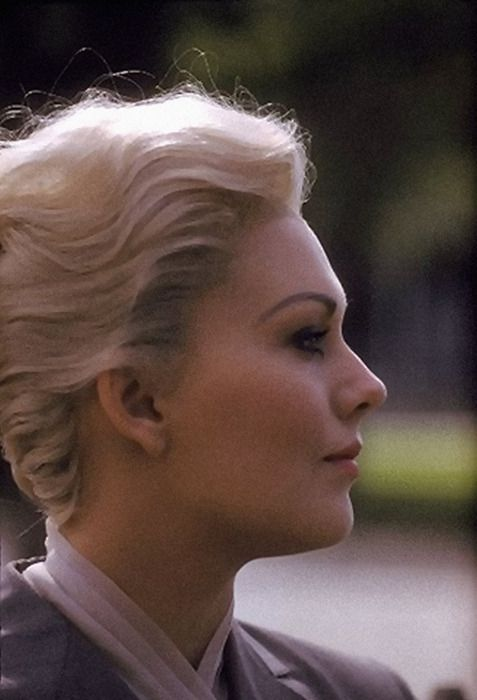 Kim Novak, publicity shot for Vertigo (Hitchcock, 1958)
