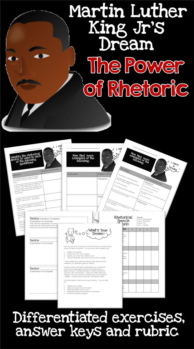 mlk analysis dream speech An analysis of the imagery used in dr martin luther king jr's most famous speech, i have a dream and why it was so effective.