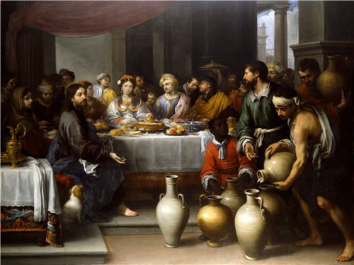 Bartolome Esteban Murillo (1617–1682), The Feast at Cana, SEVILLE, ABOUT 1672, OIL ON CANVAS, 179X235CM, The Barber Institute of Fine Arts.
