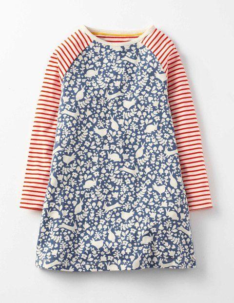 Ausgestelltes Jerseykleid 33457 Kleidung bei Boden