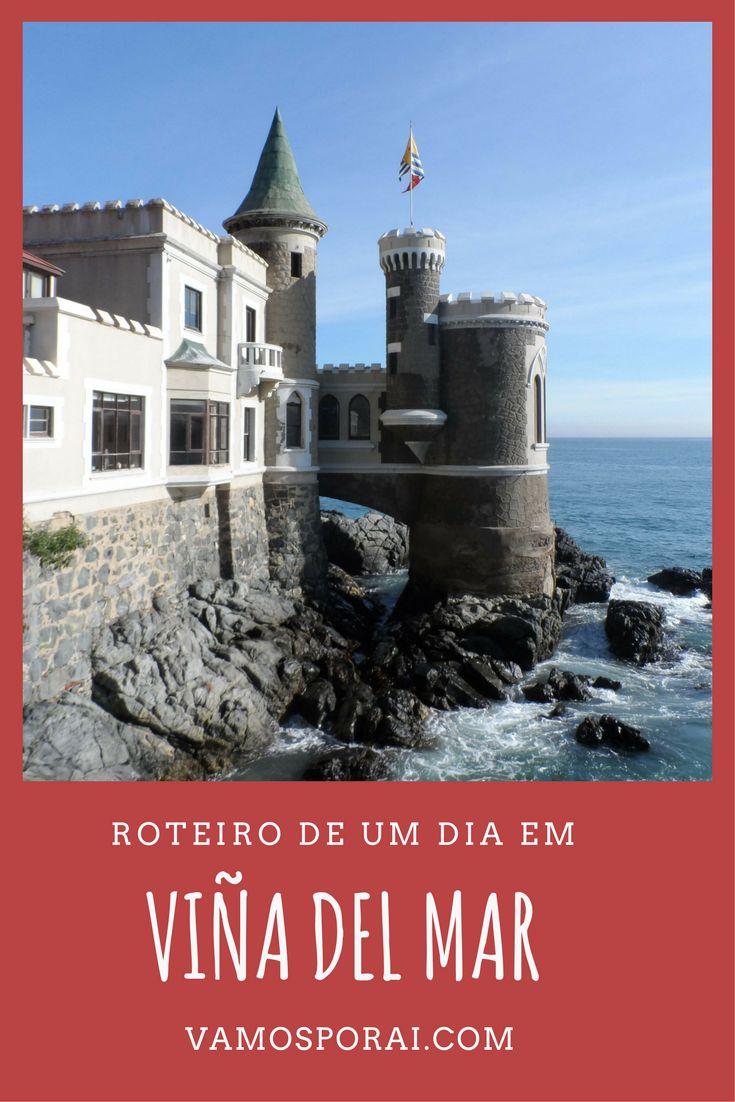 Uma boa pedida para quem vai ao Chile é conhecer Viña del Mar. Em um dia visitamos o Cassino da cidade, o relógio de flores, o Castelo Wulff e muito mais.
