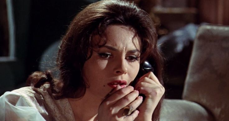 """La fille de paille — Michèle Mercier in """" Black Sabbath"""" (1963)"""