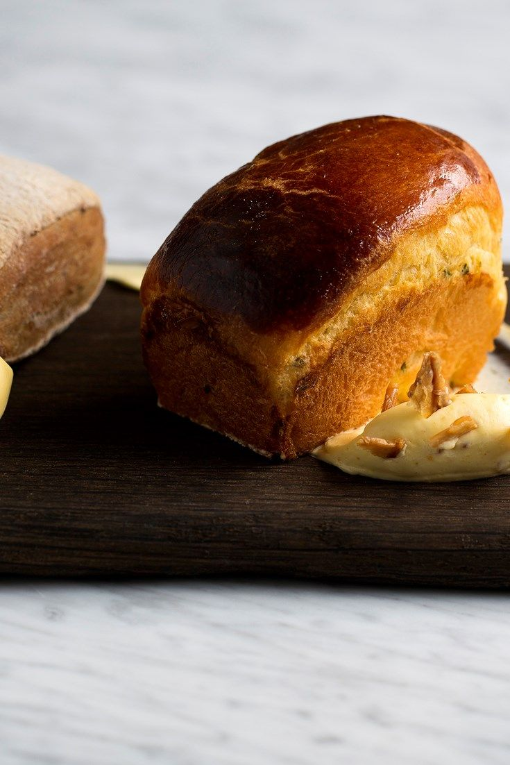Lee Westcott's brioche recipe is delicately flavoured with aromatic rosemary - a delightfully indulgent bread for the home baker