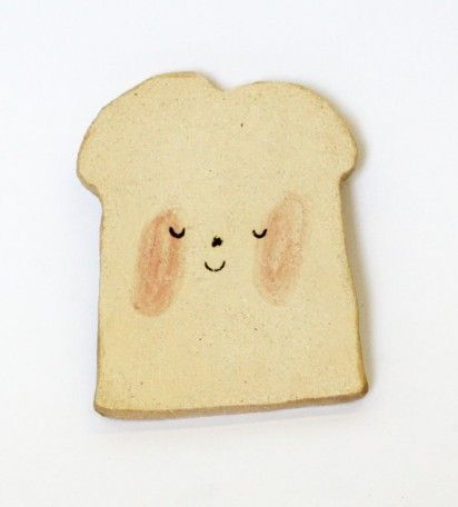 ceramic toast plate