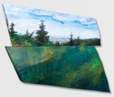 "Saatchi Art Artist Paul Brandejs; Painting, ""In the Valey"" #art"