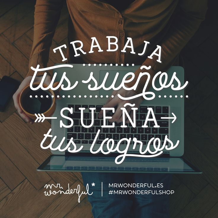 ¿Listo para hacerlos todos realidad? #mrwonderful #quote #motivation