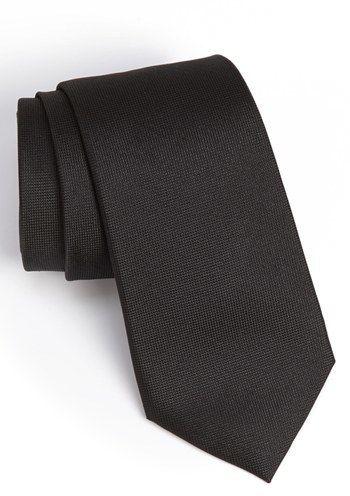 Men's Calibrate Woven Silk Tie