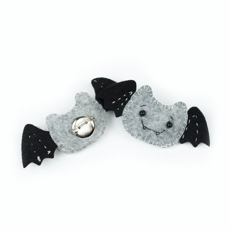 Batty for You Pin
