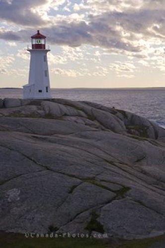 St Margarets Bay Peggys Cove Lighthouse Nova Scotia