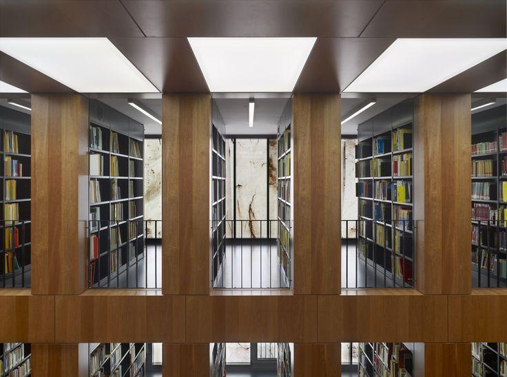 Folkwang Library / Max Dudler © Stefan Müller