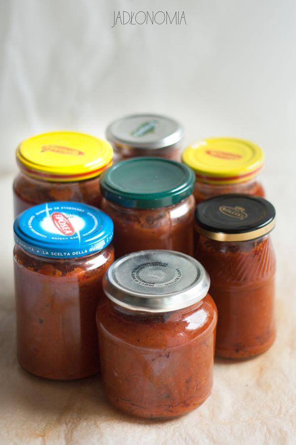 jadłonomia • roślinne przepisy: Domowy keczup pikantny