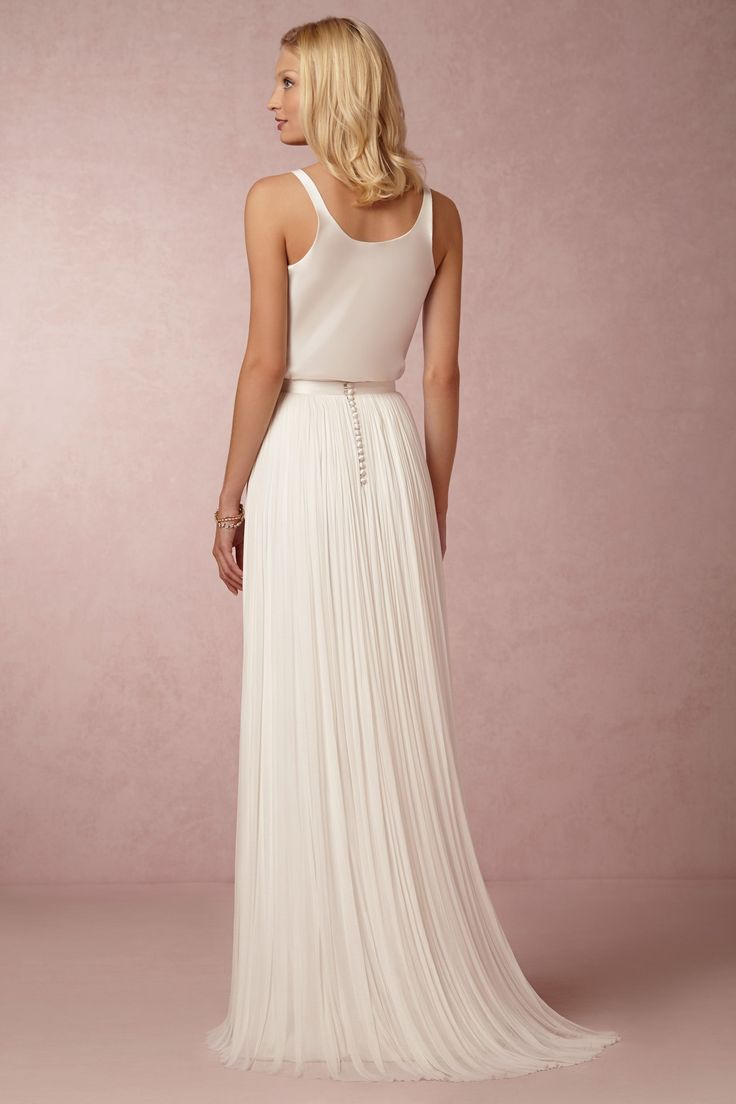 BHLDN In Perpetuity Camisole & Anika Tulle Skirt at BHLDN