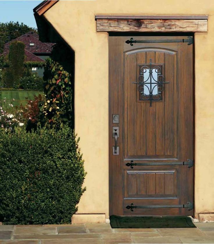 Full Lite Salento Cherry Fiberglass Door , Size: X   Traditional   Front  Doors   Tampa   US Door U0026 More Inc