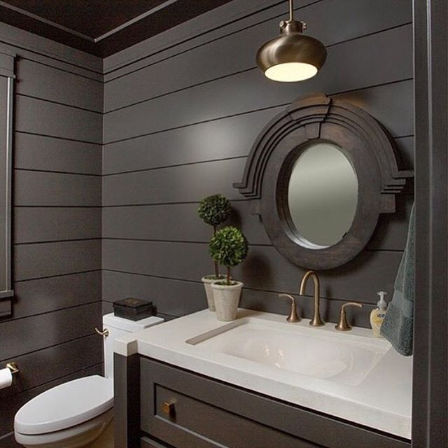 We Re Highlighting These Gorgeous Black Shiplap Walls In