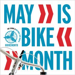 May is National Bike Month, check out themany health benefits to bicycling.