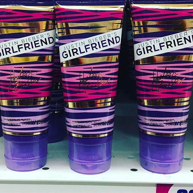Attention #Beliebers! Justin Bieber's Girlfriend Body Lotion is at #the99! #justinbeiber #beiberisback #beiberfever
