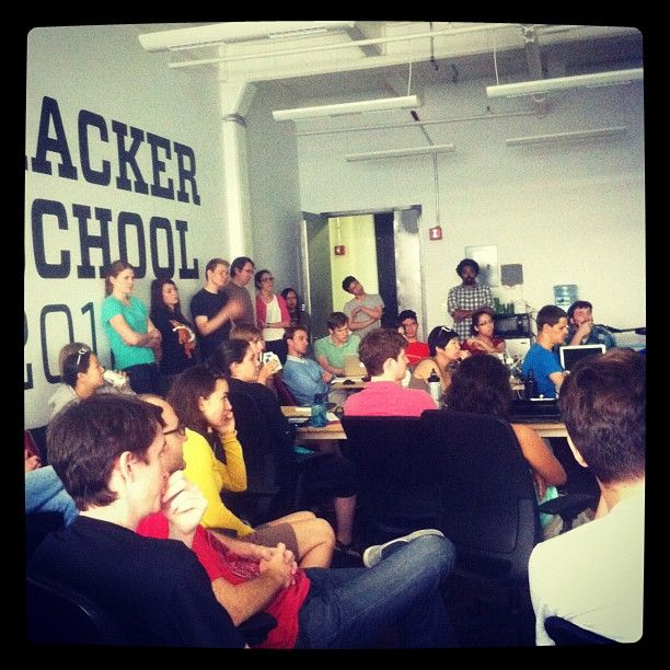 Hacker School is a retreat for programmers Want to spend three months coding and learning in New York with smart, friendly, and intellectually curious people?