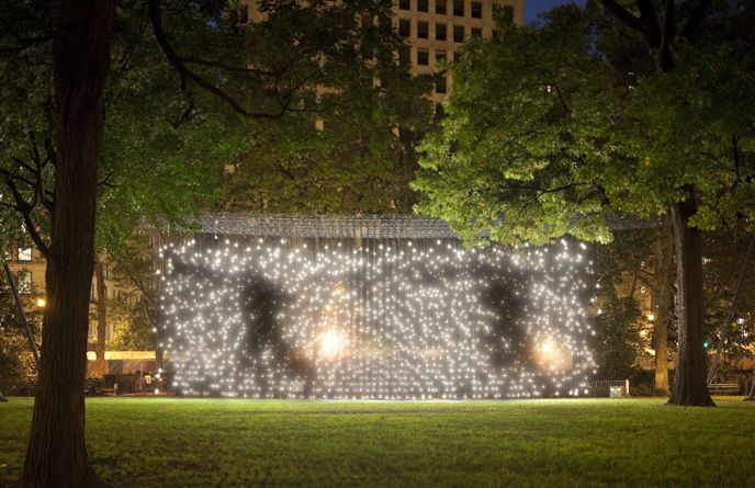Jim Campbell: Portfolio: Public Art & Commissions: Scattered Light