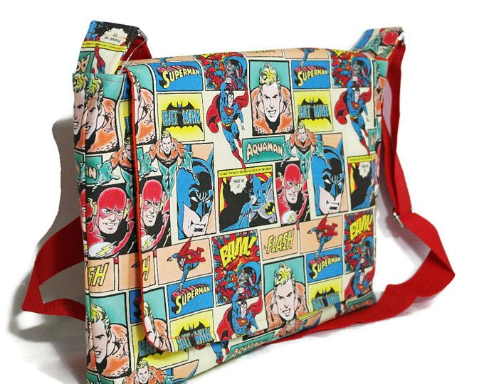 Dc Fabric Laptop Bag Comics Gift 17 Computer Messenger For Him Bags Geeky Things Pinterest