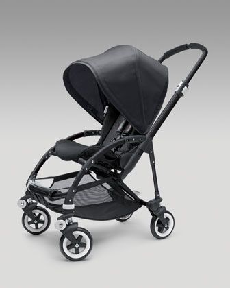 Bee Stroller Base & Sun Canopy, Black by Bugaboo at Neiman Marcus.