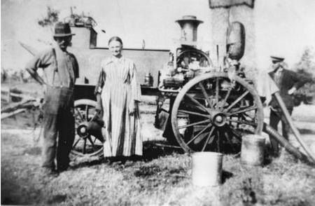 First fire engine used in Maryborough, ca. 1882.