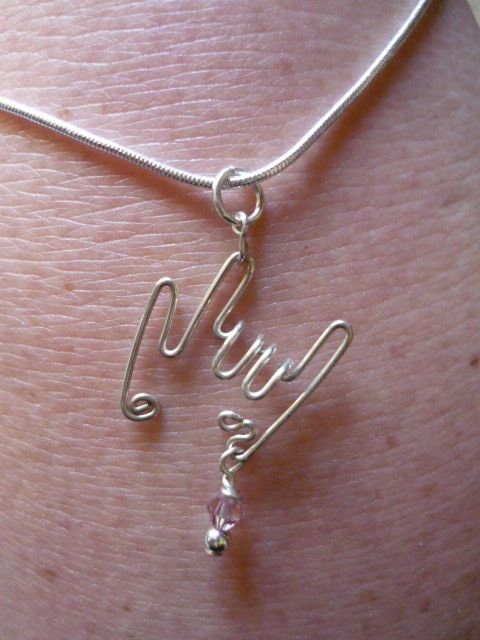 sign language I LOVE YOU pendant sterling silver with chain $25.00 [SUPER want!]