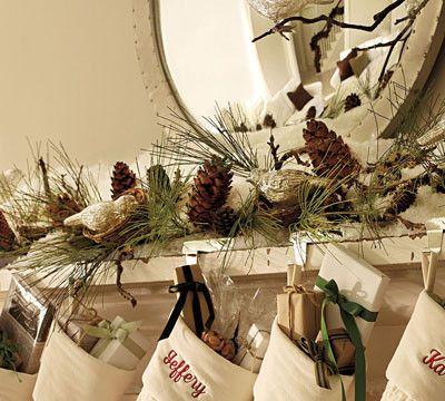 decoracion navidad rustica - Buscar con Google