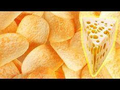Как сделать чипсы с сыром за 2 минуты. Простой Недорогой рецепт - YouTube