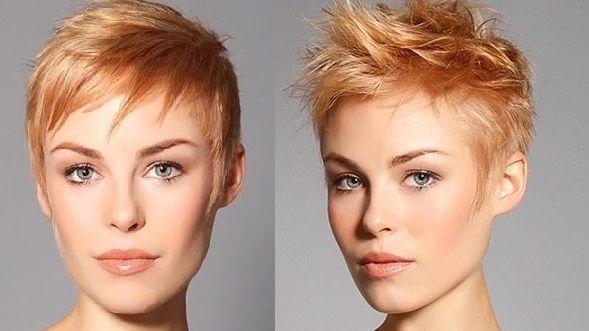 """Het klinkt misschien een beetje vreemd dat aardbeien blond, maar het is echt een geweldige kleur. Het is een warme blond variant met een koperkleurige ondertoon. Nieuwsgierig naar hoe deze kleur uitpakt op kort haar? Bekijk dan snel deze korte """"Strawberry Blonde"""" kapsels."""