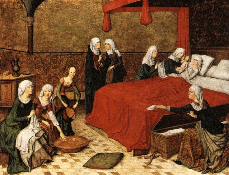Geertgen tot Sint Jans (1460/1465 – до 1495) Рождение Христа