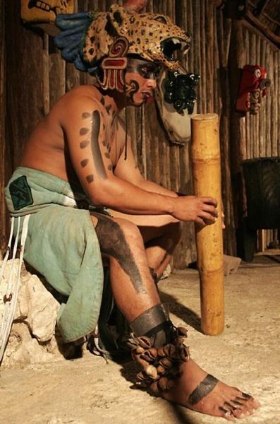 Mayan jaguar warrior.  -kc
