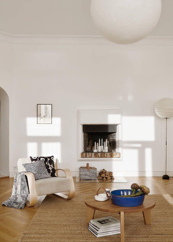 Der Finnische Hersteller   Wohnzimmer Ideen Grau Weis ...