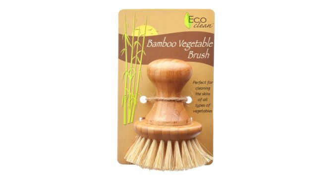 Bamboo & Tampico Cleaning Brush ->  Bamboo is the most eco friendly material available. This brush is not made from petrochemicals and it will break down in your compost at the end of it's life. Buy now for $8.72 at http://store.detrashed.com