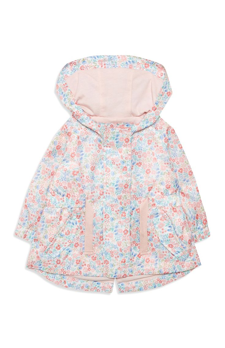 Primark - Baby Girl Pink Flower Jacket
