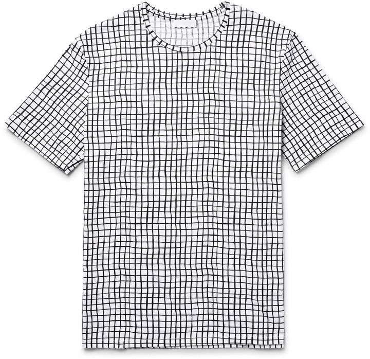 COS Printed Cotton-Jersey T-Shirt