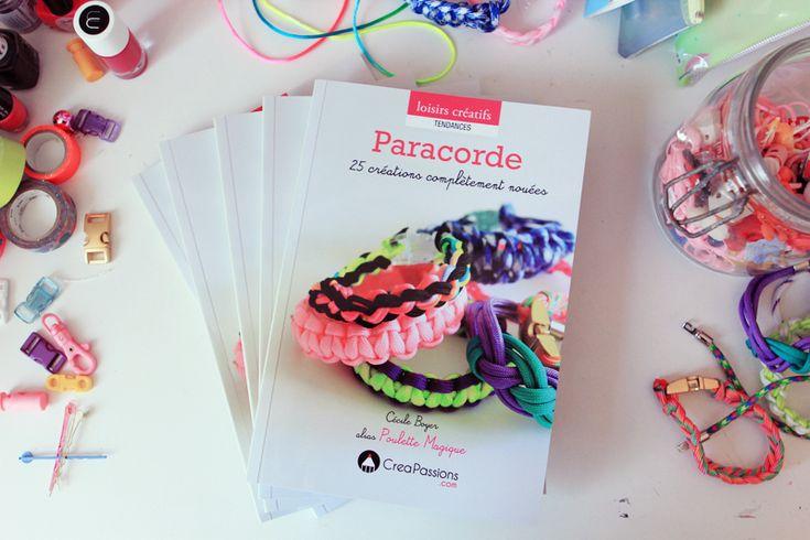 New book : Paracorde «25 créations complètement nouées» ! – Poulette Magique