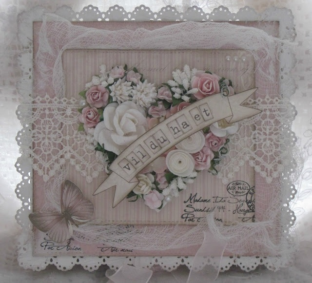 Beautiful card, actually quite do-able. (Will need to replenish my flower stash first though!)