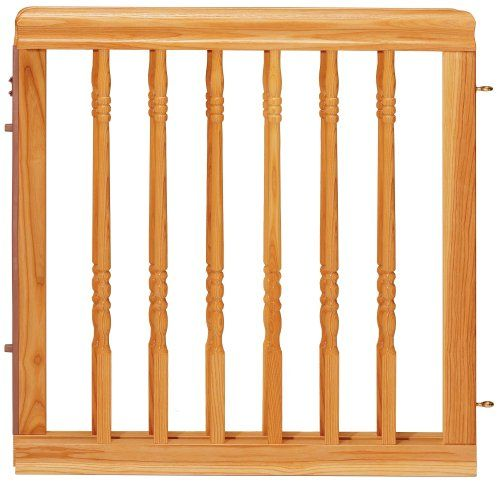 $84.54-$99.99 Evenflo Home Décor Wood Gate, Natural Oak - Evenflo Home Decor Stair Gate Old fashioned baby gates are a thing of the past.  Now, child gates are not just safe, but stylish too.  This gate is just one of the stylish gates offered by Evenflo.  The Home Decor Swing Gate blends in well with any room and lends an old time feel which is unmatched by other versions.  The durable wood desi ...