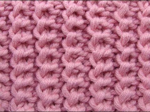 Американская резинка Узоры вязания спицами 3, My Crafts and