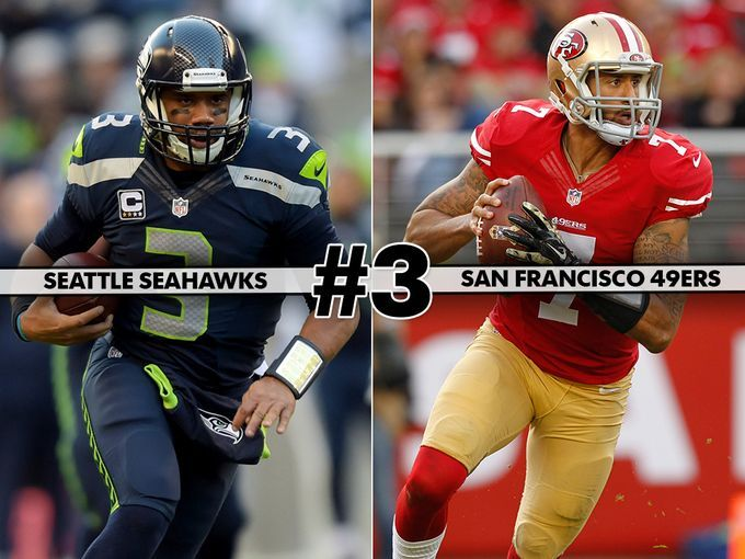 3. Seahawks at 49ers: NFC West rivalry might have lost a little glitz but both need this game badly
