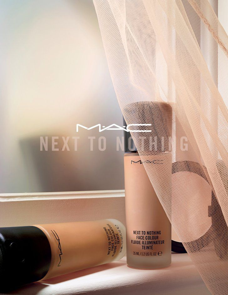 """MAC's New Skin-Perfecting Foundation Feels Like You're Wearing """"Next to Nothing"""""""
