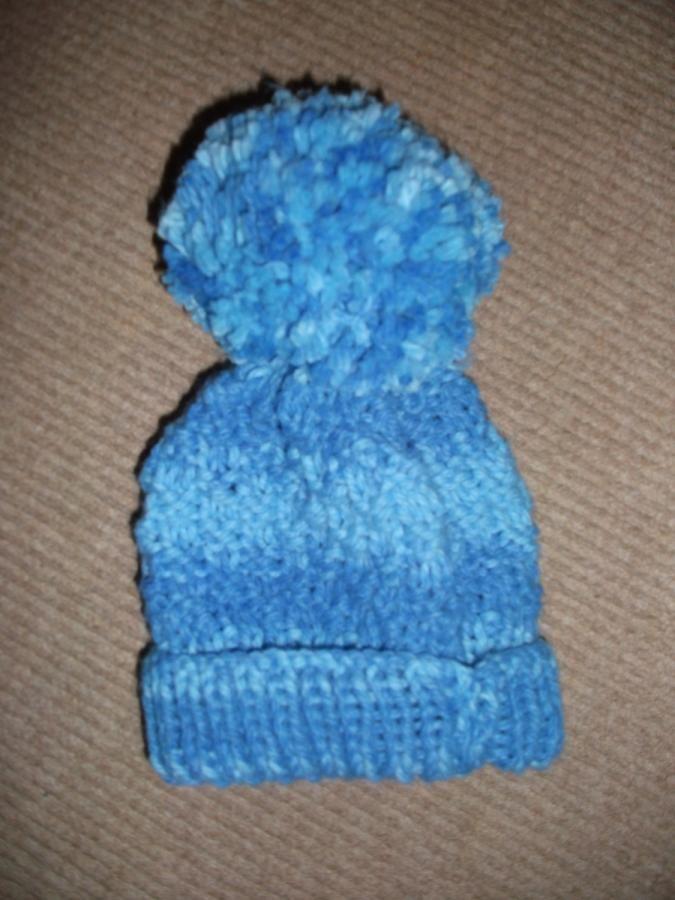 Moss Stitch Beanie - Knitting creation by mobilecrafts   Knit.Community