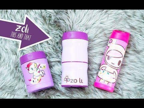 ZoLi This & That Food Jar in Jujube Bags! - YouTube