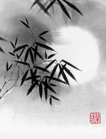 Chinese painting -bamboo