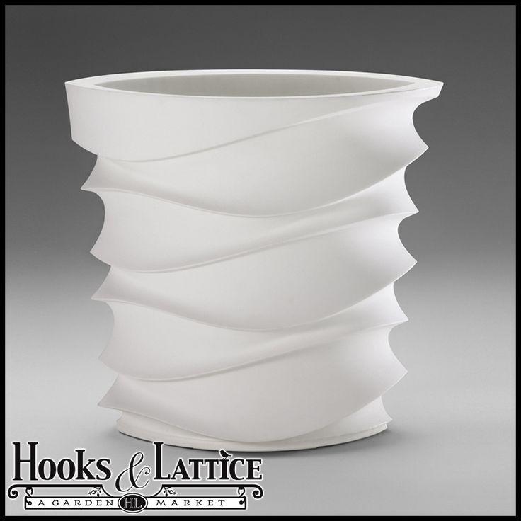 Expressions Contemporary Planter - Alpine White $229.85