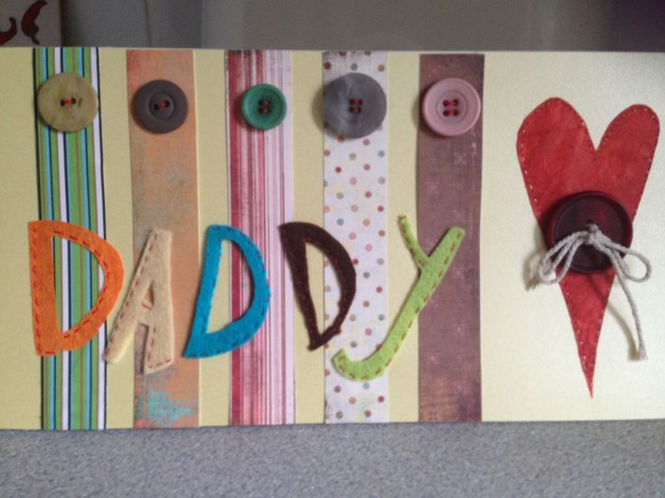 Daddy birthday card