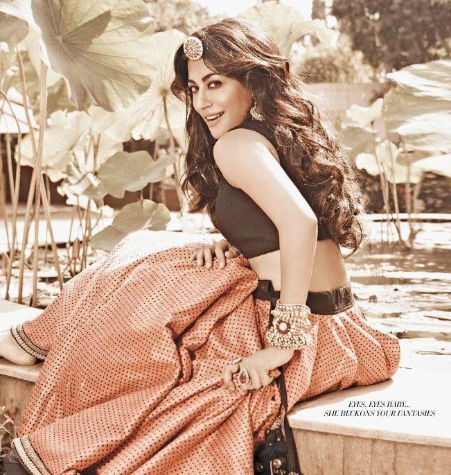 Chitrangada Singh - Filmfare January 2013  Sabyasachi Mukherjee
