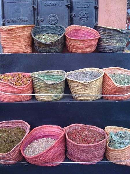 Marrakech colours
