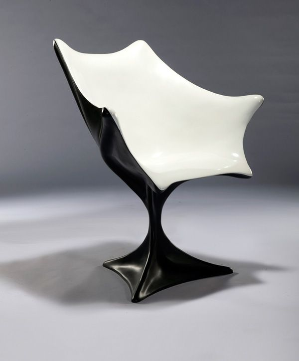 Yu Haotian - Batwings Chair. @Lizzi Klassen。Interiors Design, Batwing Sillas, Black White, Haotian Batwing, Batman Offices, Batwing Chairs, Industrial Design, Offices Chairs, Yu Haotian